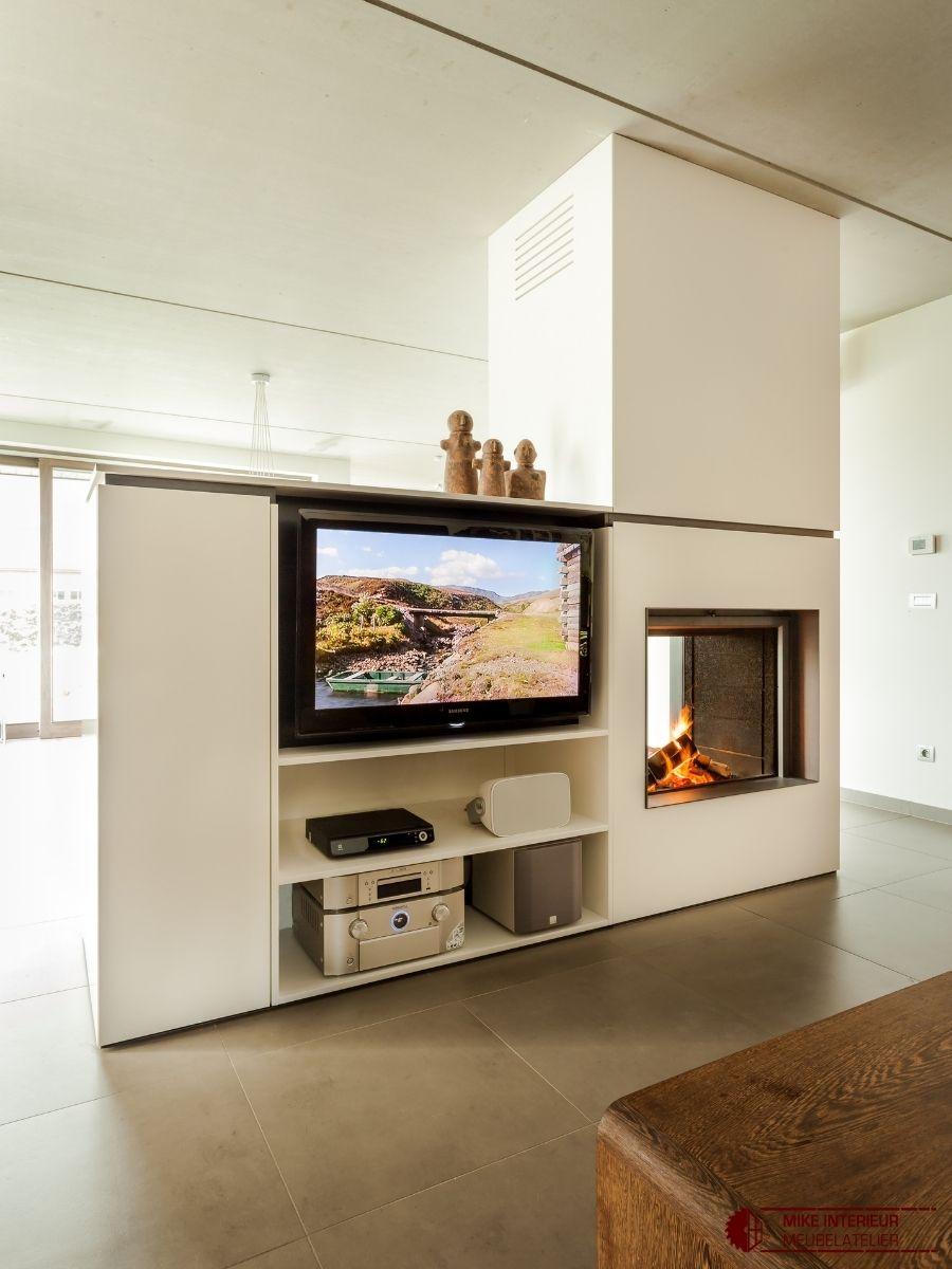 Haard- & TV meubel