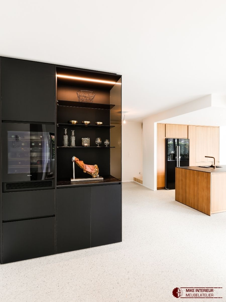 Warme moderne keuken